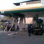 Posto onde houve explosão durante abastecimento GNV, acidente causado por negligência na manutenção do Cilindro GNV.