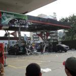 Posto onde houve explosão durante abastecimento GNV, acidente causado por negligênvia na manutenção do Cilindro GNV